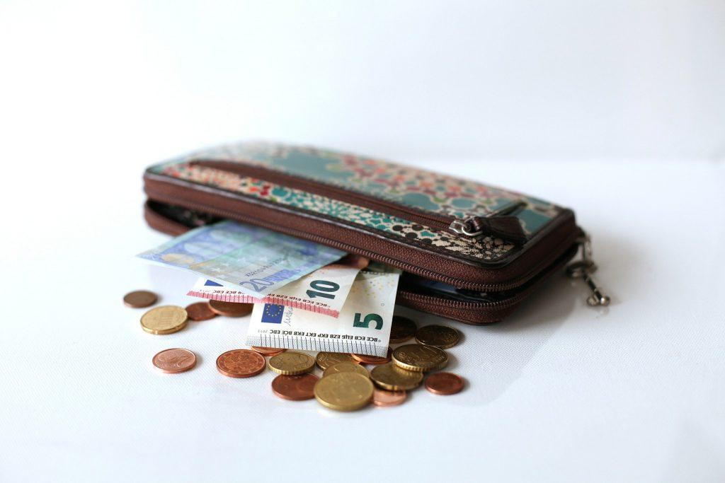 Arrondis pour alléger le porte-monnaie
