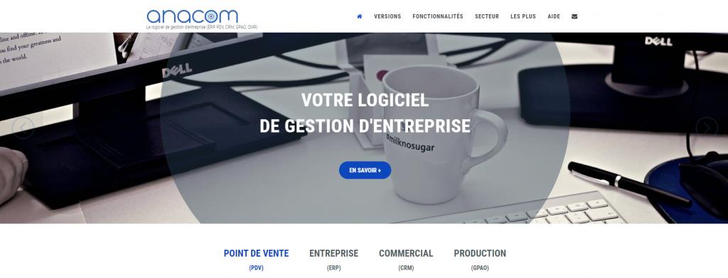 Anacom website